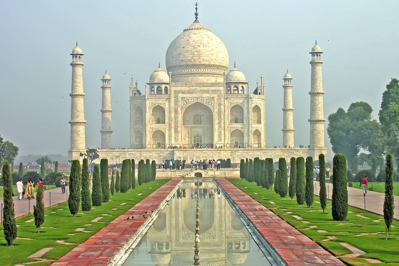 Тадж-Махал, Агра, Индия