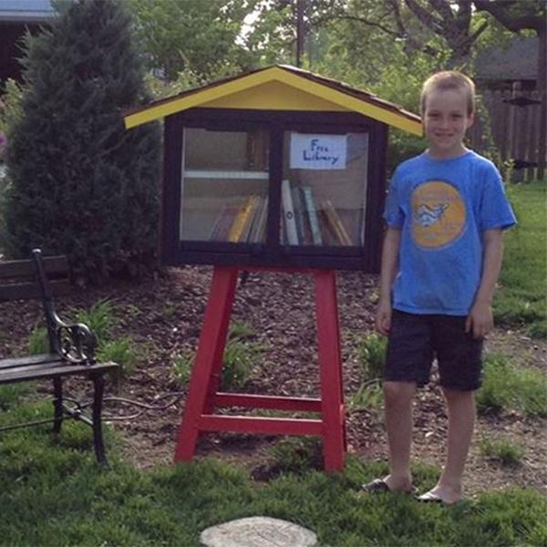 Facebook,библиотека,законодательство, Девятилетний школьник из США борется с местными властями за свою библиотеку
