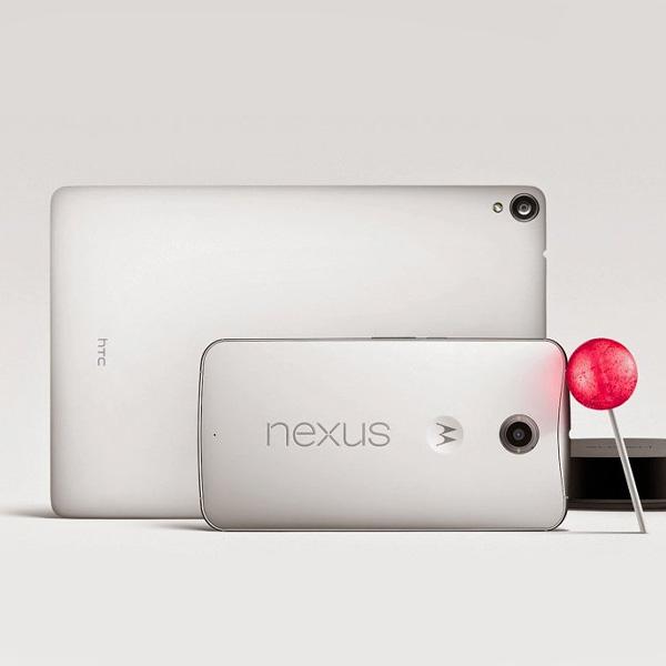 Android,Lollipop,Nexus, Все о новой линейке Nexus