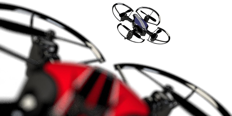 Первый боевой дрон – BYROBOTS Fight Drone