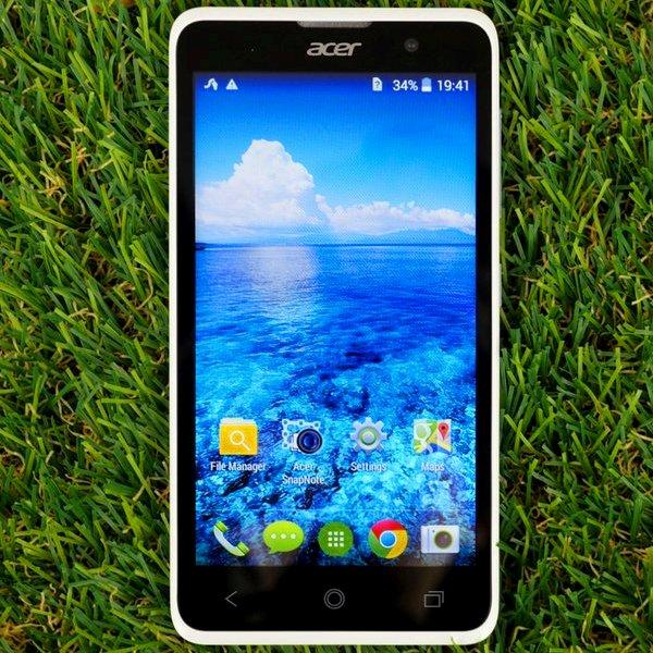 Acer, Android, смартфон, Обзор доступного Android-смартфона Acer Liquid Z520