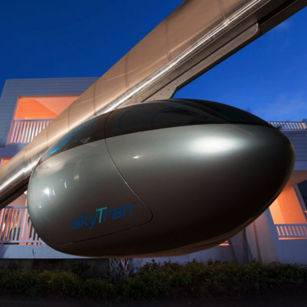 США,NASA,транспорт,идея,концепт,дизайн,автомобиль,авто,автомобили,электродвигатель,путешествия,отдых,туризм, Монорельс Skytran Taxi: «воздушное такси» уже скоро может стать реальностью