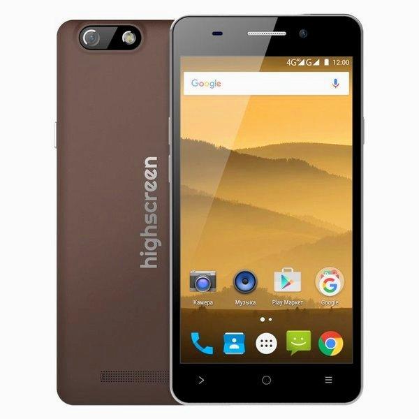 Россия,Google,Android,смартфон, Highscreen Power Five EVO - смартфон с мощным аккумулятором по доступной цене
