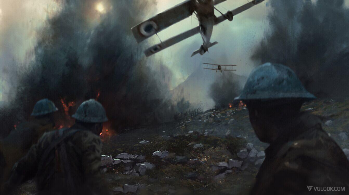 Студия DICE обнародовала новый трейлер к видеоигре Battlefield 1