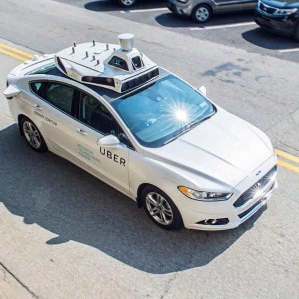 Uber,беспилотник,автомобили, История моей поездки на беспилотном Uber-такси
