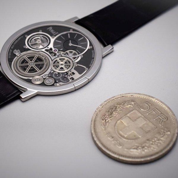часы,дизайн, Женевское клеймо: Piaget Altiplano - самые тонкие наручные часы в мире