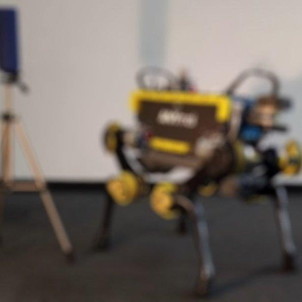 дрон, робот, юмор, Танцующий робот ANYmal