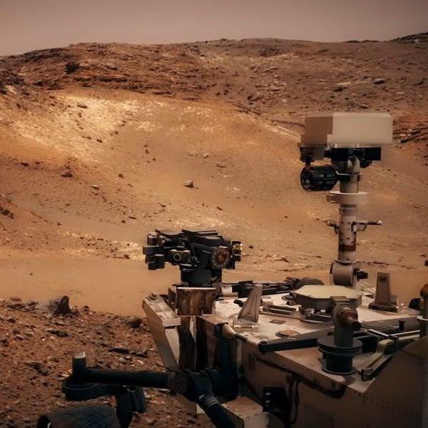 космос, Вертолет на Марсе
