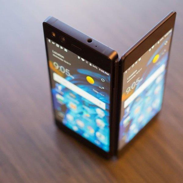 Samsung, дизайн, Тайный смартфон с гибким экраном Samsung Galaxy X